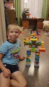 Лего-робот