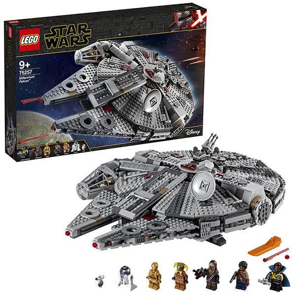 Большое Лего Сокол