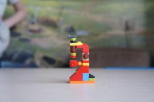 Микроскоп из Лего