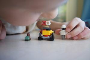 Валли и Ева из Лего
