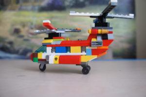 Лего-вертолёт