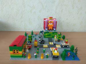 Лего-приключения колобка