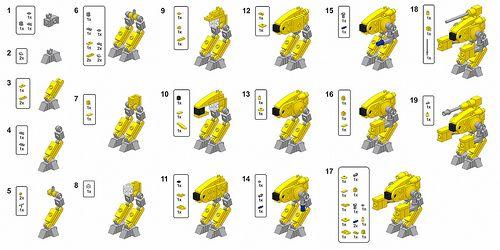 Тнструкция к Лего-роботу