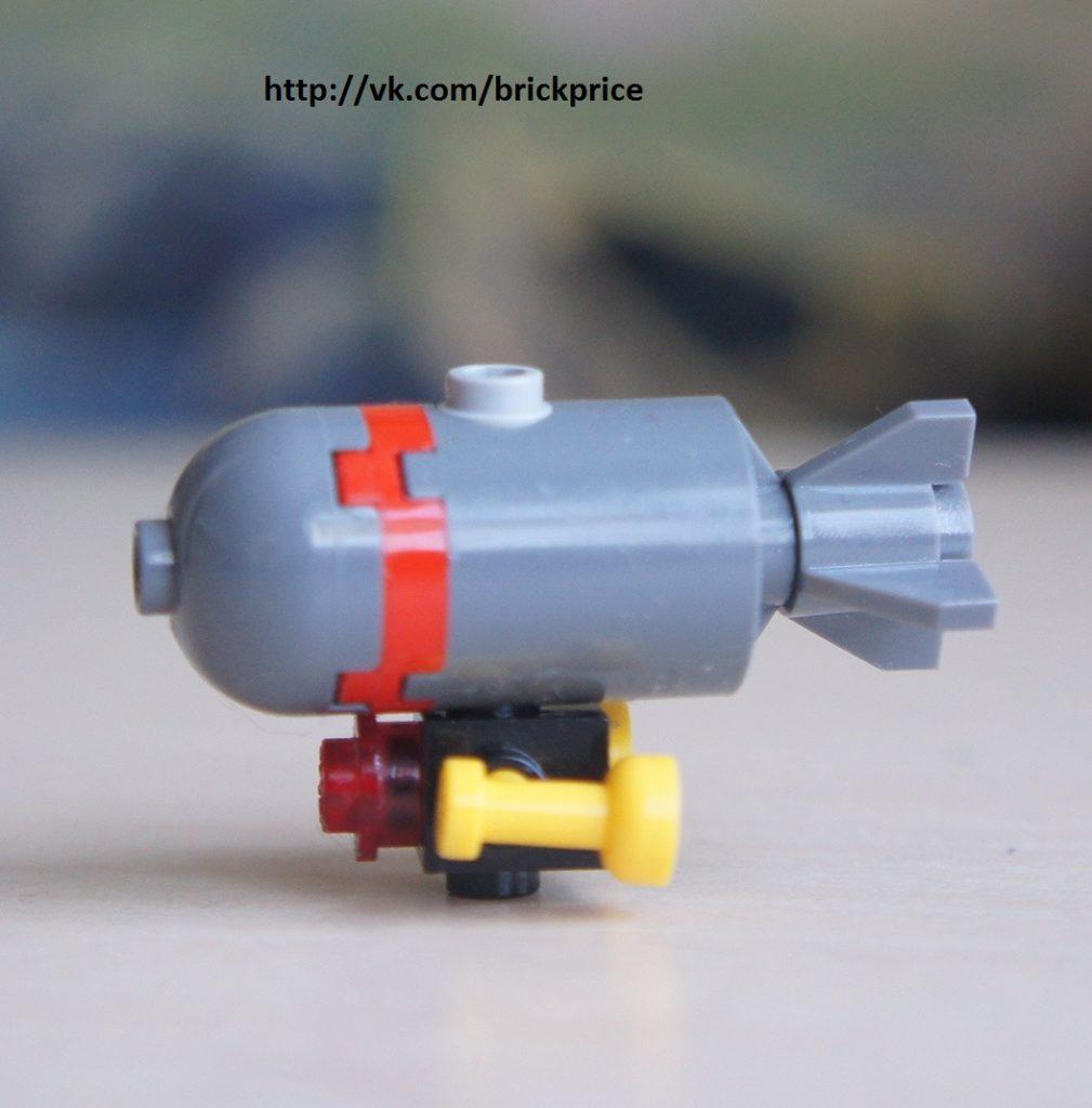 Подводная торпеда из Лего