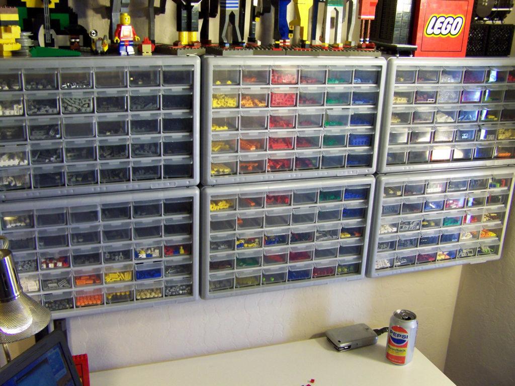 теллаж для Лего