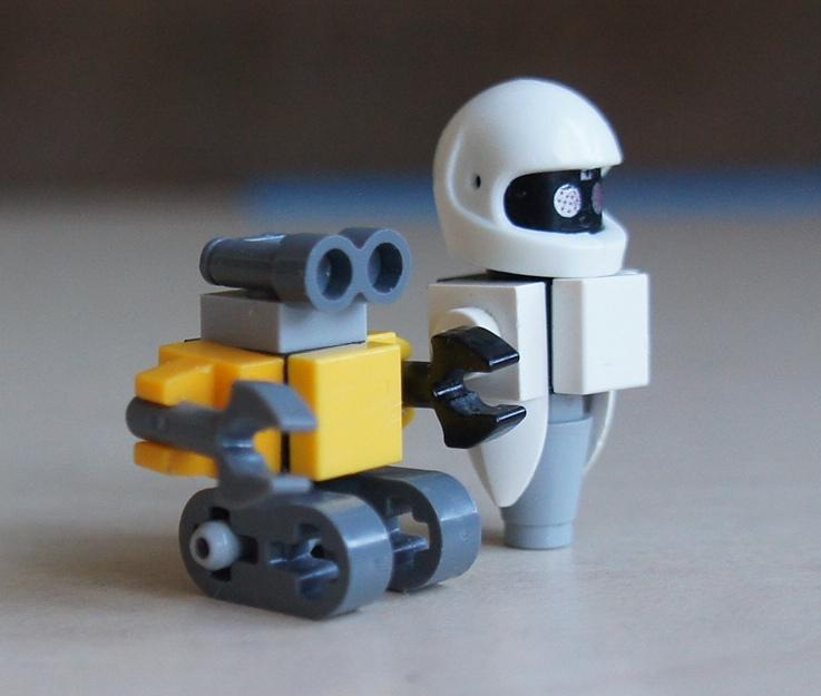 Робото Ева и Валли из Лего