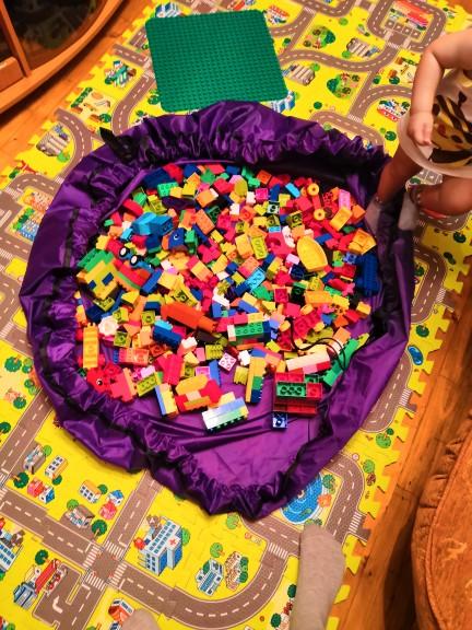 Ковёр-мешок Лего - отзыв